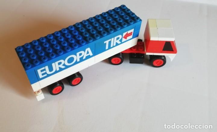 Juegos construcción - Tente: TENTE RUTA (EXIN). REF 683 CAMIÓN EUROPA TIR - Foto 2 - 172117258