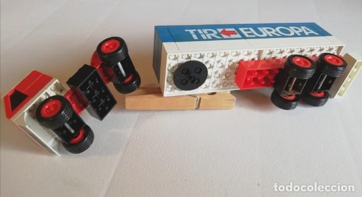 Juegos construcción - Tente: TENTE RUTA (EXIN). REF 683 CAMIÓN EUROPA TIR - Foto 3 - 172117258