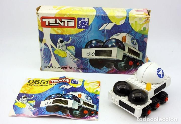 TENTE ASTRO - REF. 0651 - CENTRO MOVIL DE CONTROL - EN SU CAJA ORIGINAL Y CON INSTRUCCIONES - EXIN (Juguetes - Construcción - Tente)