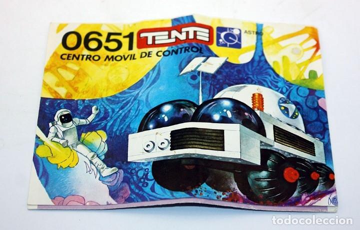 Juegos construcción - Tente: TENTE ASTRO - REF. 0651 - CENTRO MOVIL DE CONTROL - EN SU CAJA ORIGINAL Y CON INSTRUCCIONES - EXIN - Foto 2 - 172724584