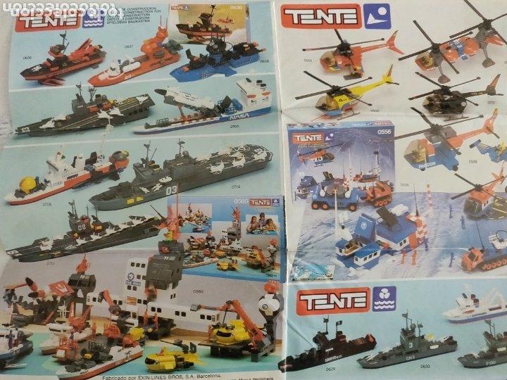 Juegos construcción - Tente: Catálogo muy escaso de Tente con las novedades Roblock - Foto 2 - 173978838