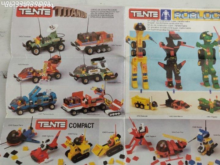 Juegos construcción - Tente: Catálogo muy escaso de Tente con las novedades Roblock - Foto 3 - 173978838
