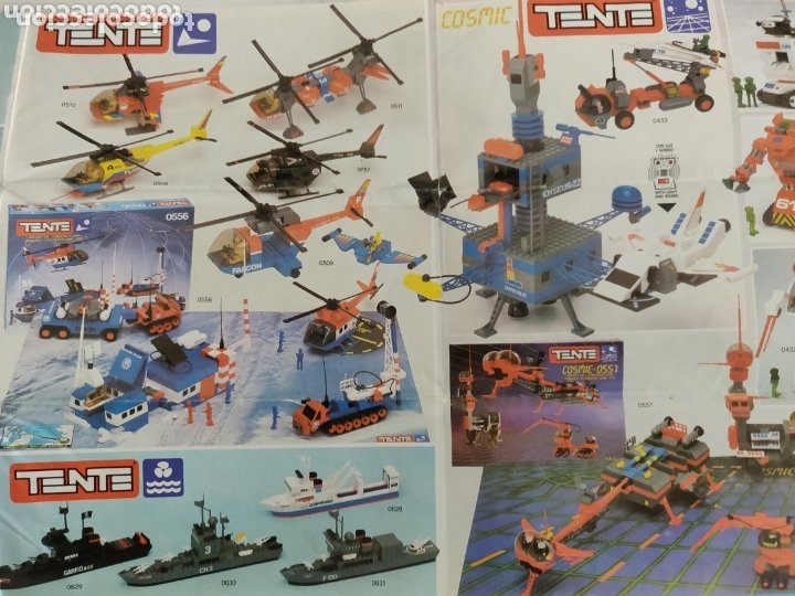 Juegos construcción - Tente: Catálogo muy escaso de Tente con las novedades Roblock - Foto 4 - 173978838