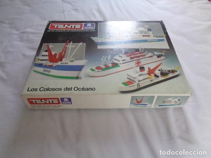 Juegos construcción - Tente: Juego de Tente - Los Colosos del Oceano - con sus tapas originales y las instrucciones - Foto 2 - 174067404
