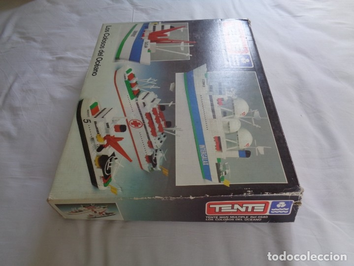 Juegos construcción - Tente: Juego de Tente - Los Colosos del Oceano - con sus tapas originales y las instrucciones - Foto 3 - 174067404
