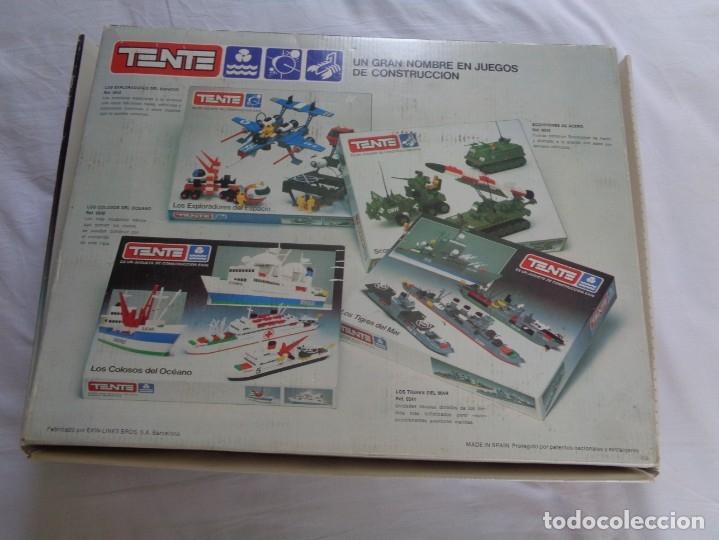 Juegos construcción - Tente: Juego de Tente - Los Colosos del Oceano - con sus tapas originales y las instrucciones - Foto 7 - 174067404