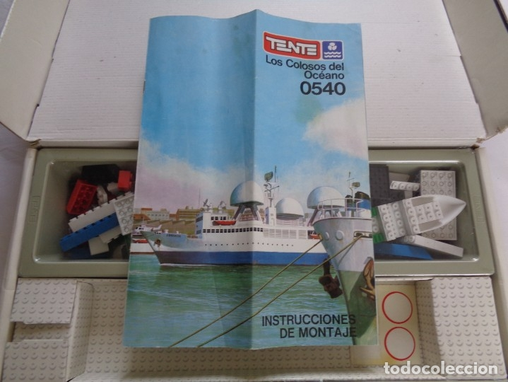 Juegos construcción - Tente: Juego de Tente - Los Colosos del Oceano - con sus tapas originales y las instrucciones - Foto 15 - 174067404