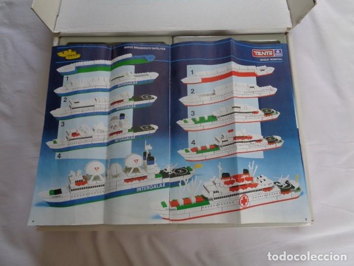 Juegos construcción - Tente: Juego de Tente - Los Colosos del Oceano - con sus tapas originales y las instrucciones - Foto 17 - 174067404