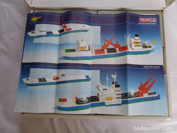 Juegos construcción - Tente: Juego de Tente - Los Colosos del Oceano - con sus tapas originales y las instrucciones - Foto 19 - 174067404