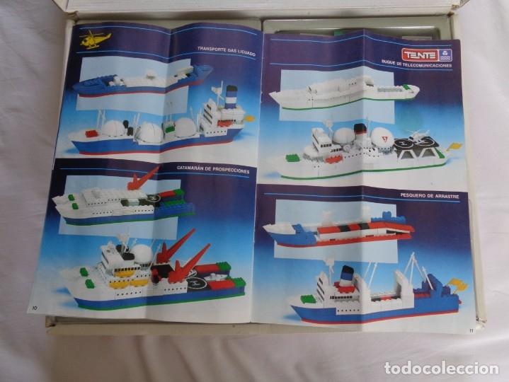 Juegos construcción - Tente: Juego de Tente - Los Colosos del Oceano - con sus tapas originales y las instrucciones - Foto 20 - 174067404