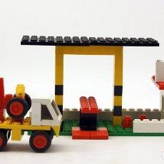 Juegos construcción - Tente: TENTE RUTA - REF. 0691 - ESTACION DE ENGRASE Y CAMION GRUA - 1977 - COMPLETO. Lote 175619517