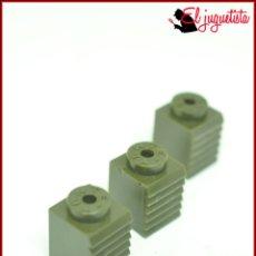 Juegos construcción - Tente: OLEK1 - TENTE CAQUI SCORPION - 1X1 REJILLA PERSIANA X3. Lote 194972473