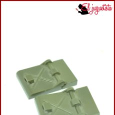Juegos construcción - Tente: OLEK1 - TENTE CAQUI SCORPION - ESCOTILLA BISAGRA X2. Lote 221634627