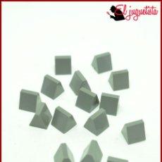 Juegos construcción - Tente: OLEK1 - TENTE GRIS - 1X1H CUÑA X16. Lote 175926298