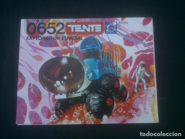 TENTE ASTRO 0652 - EXPLORADOR ESPACIAL - INSTRUCCIONES (Juguetes - Construcción - Tente)