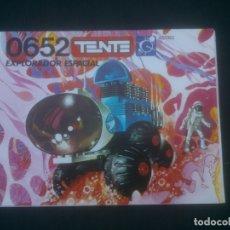 Juegos construcción - Tente: TENTE ASTRO 0652 - EXPLORADOR ESPACIAL - INSTRUCCIONES. Lote 175943594