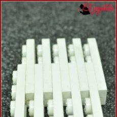 Juegos construcción - Tente: OLEK1 - TENTE BLANCO - 1X4 X10. Lote 176431748