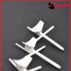 Juegos construcción - Tente: TENTE - MASTIL RADAR BLANCO X3. Lote 176514174