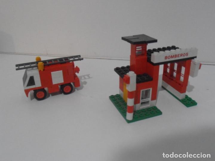 Juegos construcción - Tente: CUARTEL Y CAMION DE BOMBEROS, TENTE REF 0690, EXIN, COMPLETO CAJA E INSTRUCCIONES - Foto 4 - 177002160