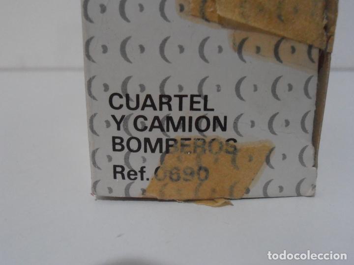 Juegos construcción - Tente: CUARTEL Y CAMION DE BOMBEROS, TENTE REF 0690, EXIN, COMPLETO CAJA E INSTRUCCIONES - Foto 10 - 177002160