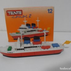 Juegos construcción - Tente: TENTE BARCO MOTONAVE COMBI 2,10, TUNEZ, EXIN REF 0311, COMPLETO CAJA. Lote 177003488