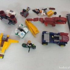 Juegos construcción - Tente: LOTE DE RESTOS PIEZAS LEGO.. Lote 177472778