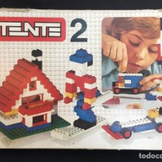 Juegos construcción - Tente: TENTE 2 EXIN LINES BROS 0402 AÑOS 70. Lote 179047007