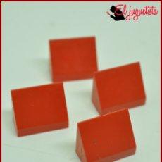 Juegos construcción - Tente: JUMIK - TENTE ROJO - 1X2 CUÑA X4. Lote 179226202