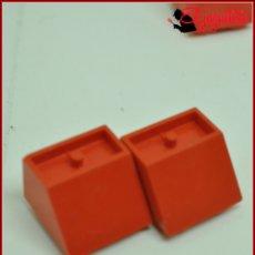 Juegos construcción - Tente: JUMIK - TENTE ROJO - 2X2 CUÑA X2. Lote 179226346