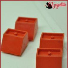 Juegos construcción - Tente: JUMIK - TENTE ROJO - 2X2 CUÑA X4. Lote 179226396