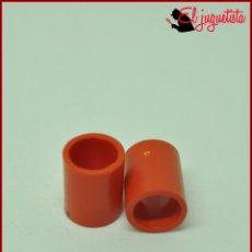 Juegos construcción - Tente: JUMIK - TENTE ROJO - 1X1 CILINDRO VACIO TUBO X2. Lote 179226630