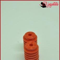 Juegos construcción - Tente: JUMIK - TENTE ROJO - 1X1 CILINDRO RAYADO X2. Lote 179226660