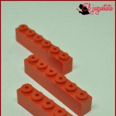 Juegos construcción - Tente: JUMIK - TENTE ROJO - 1X6 X3. Lote 179227140