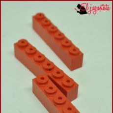 Juegos construcción - Tente: JUMIK - TENTE ROJO - 1X6 X3. Lote 179227152