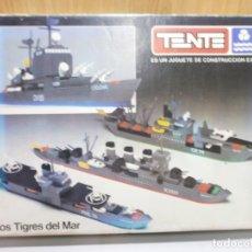 Juegos construcción - Tente: TENTE EXIN LOS TIGRES DEL MAR EN SU CAJA ORIGINAL REF 0541. Lote 179258445