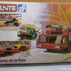 Juegos construcción - Tente: TENTE EXIN EL MUNDO DE LA RUTA REF 0553 COMPLETO Y MUCHO MAS A MAYORES VER FOTOS. Lote 179260707