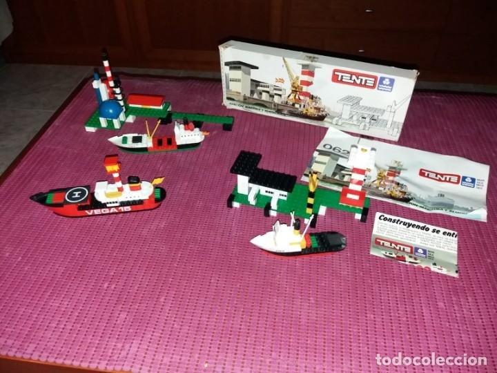 Juegos construcción - Tente: Lote Tente 0620 en caja original y 0602 y 0622 muy completo - Foto 3 - 179334575