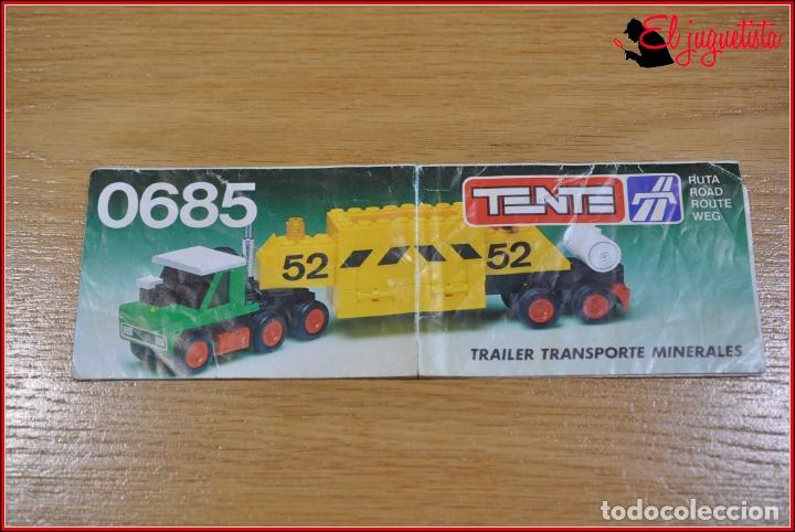KAVIK - INSTRUCCIONES - 0685 TRAILER TRANSPORTE MINERALES (Juguetes - Construcción - Tente)