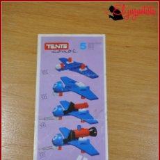 Juegos construcción - Tente: KAVIK - INSTRUCCIONES - COMBI 5. Lote 182354143