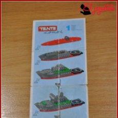 Juegos construcción - Tente: KAVIK - INSTRUCCIONES - COMBI 1. Lote 182354205