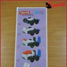 Juegos construcción - Tente: KAVIK - INSTRUCCIONES - COMBI 6. Lote 182354252