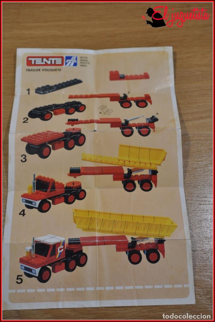 Juegos construcción - Tente: KAVIK - INSTRUCCIONES - 0687 TRAILER VOLQUETE - Foto 2 - 182354453
