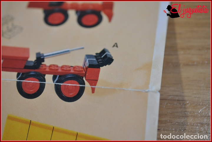 Juegos construcción - Tente: KAVIK - INSTRUCCIONES - 0687 TRAILER VOLQUETE - Foto 3 - 182354453