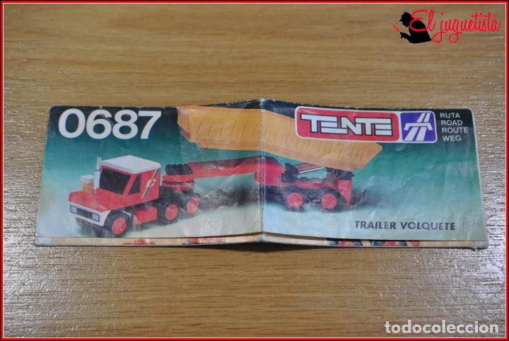 KAVIK - INSTRUCCIONES - 0687 TRAILER VOLQUETE (Juguetes - Construcción - Tente)