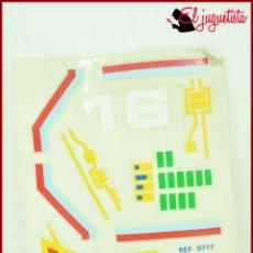 Juegos construcción - Tente: KAVIK - TENTE - ADHESIVOS WICCO 0777 ROBLOCK. Lote 182619783