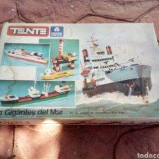 Juegos construcción - Tente: CAJA DE TENTE/EXIN LOS GIGANTES DEL MAR. Lote 182854803