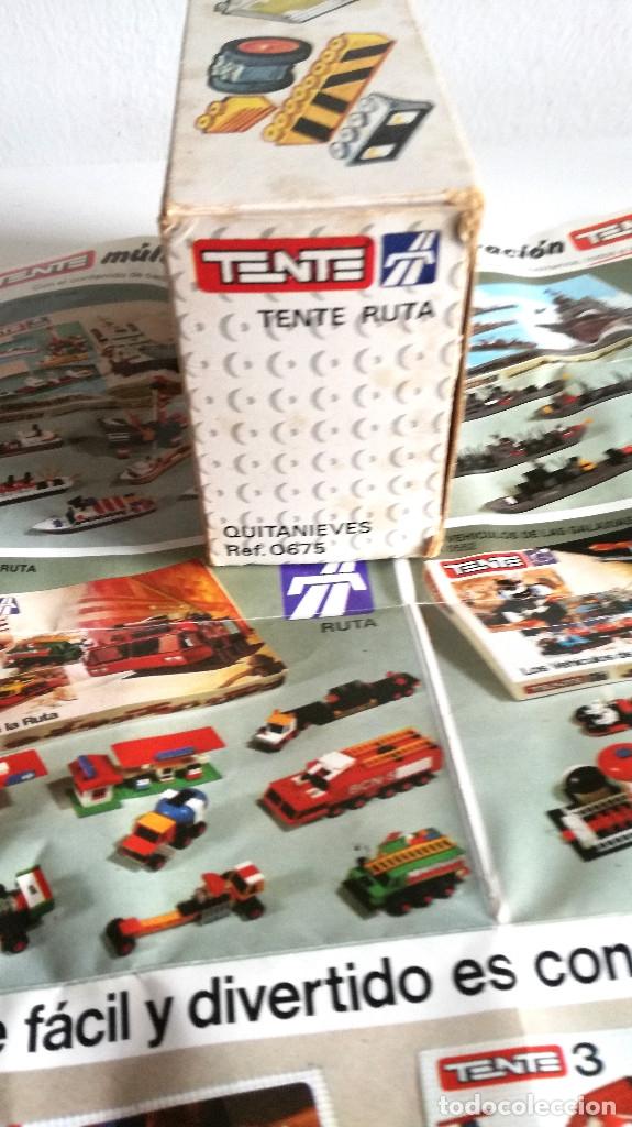 Juegos construcción - Tente: Tente Ruta Exin Quitanieves Ref. 0675 con instrucciones y folleto ver fotos - Foto 5 - 183086226