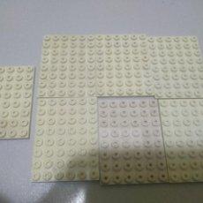 Juegos construcción - Tente: TENTE PLACA 8X6 BLANCO X7 PIEZAS CJ3. Lote 185902857