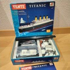 Juegos construcción - Tente: TENTE TITANIC 701130. Lote 186259025