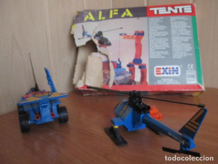 Juegos construcción - Tente: TENTE ALFA REF. 0363 - VEHICULO Y HELICOPTERO DE POLICIA - Foto 14 - 187630913